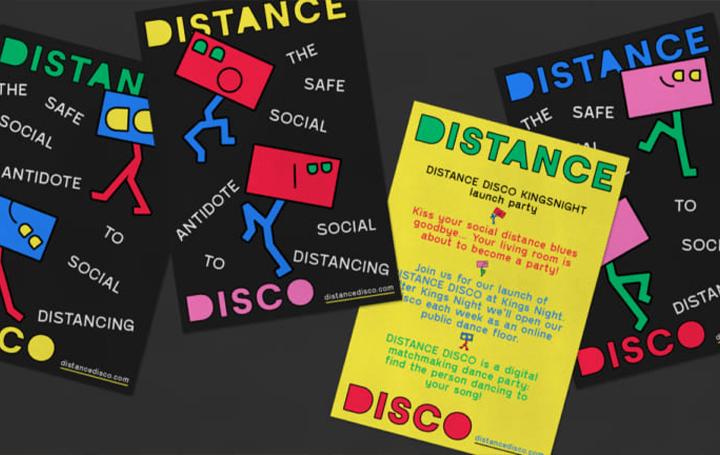 自宅で楽しむデジタルパーティー オランダデザインスタジオTINが提案「Distance Disco」