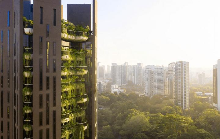 Heatherwick Studioによるレジデンシャルタワー「Eden」 シンガポールの気候にインスパイアされた屋外庭園
