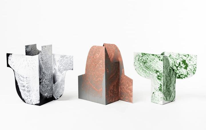 スウェーデンデザイナーJenny Nordberg、 現代の製造スタイルに対する批判から生まれた家具「Powder Vase」