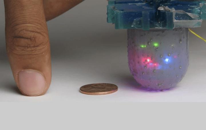 360度センシングできるドーム型の触覚センサー 米カリフォルニア大学研究機関BAIRが「OmniTact」を開発
