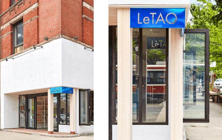 北海道・小樽の洋菓子舗「ルタオ」のトロント店舗 カナダ建築スタジオ Kilogram Studioが設計を担当