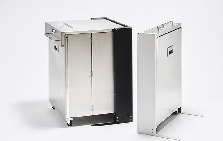大きい宅配ボックスがもう邪魔にならない 折りたたみ式宅配ボックス「MULFOL-T」が登場
