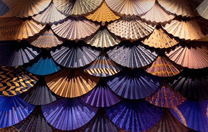 世界中の人にファブリックの可能性を伝える 須藤玲子の作品「扇の舞」がオンライン公開