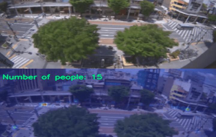 リアルタイムで人の密集度をカウント、ビジュアル化 Ridge-iによる映像解析ソリューションデモの第2弾が公開