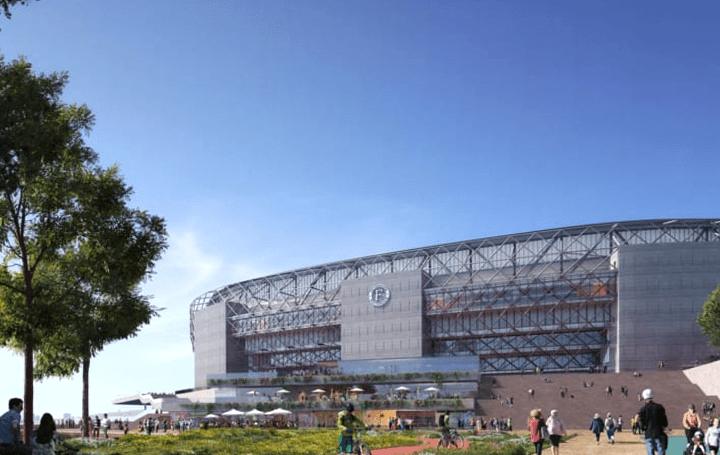 OMA、オランダのサッカークラブ 「フェイエノールト」の新しいスタジアムの設計を公開