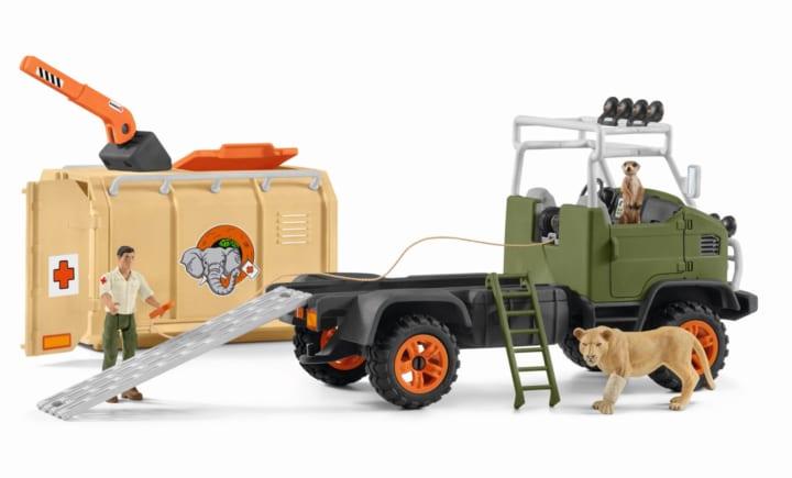 ドイツのフィギュアメーカー・シュライヒによる 野生動物シリーズ「ワイルドライフ」のプレイセットが登場