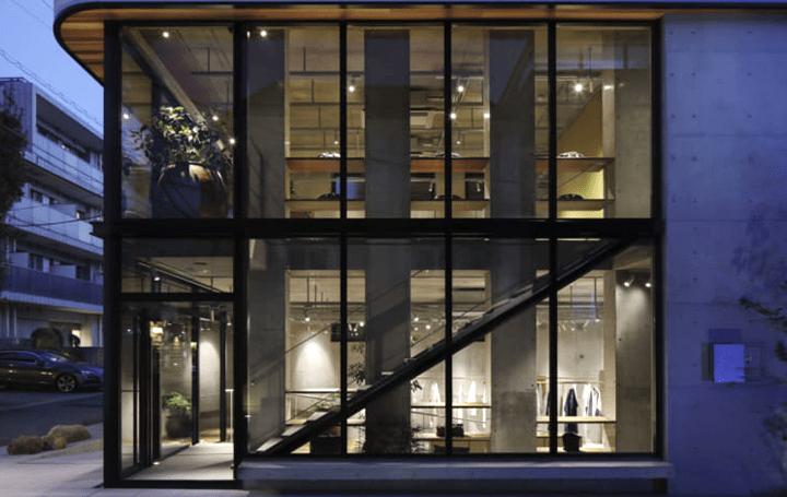 二俣公一率いるCASE-REALが店舗内装を手がけた 「ヨーガンレール青山店」を公開