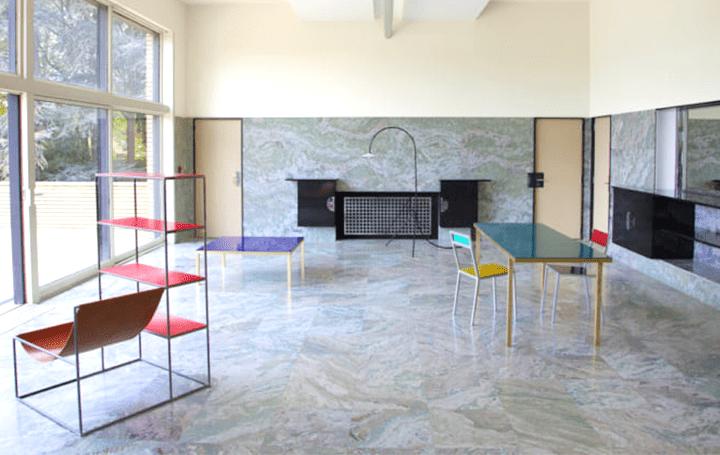 ロベール・マレ=ステヴァンスの傑作「Villa Cavrois」に デザインデュオMuller van Severenが家具展を開催
