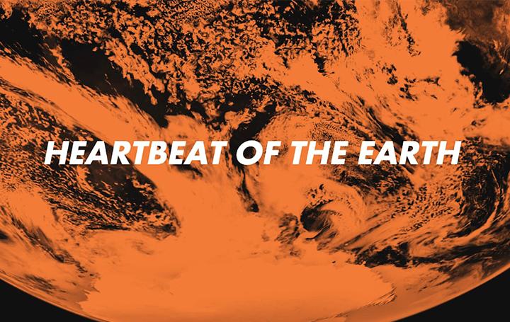 Google Arts&Culture Labによる世界の気候データを イメージしたアートワーク「Heartbeat of the Earth」…