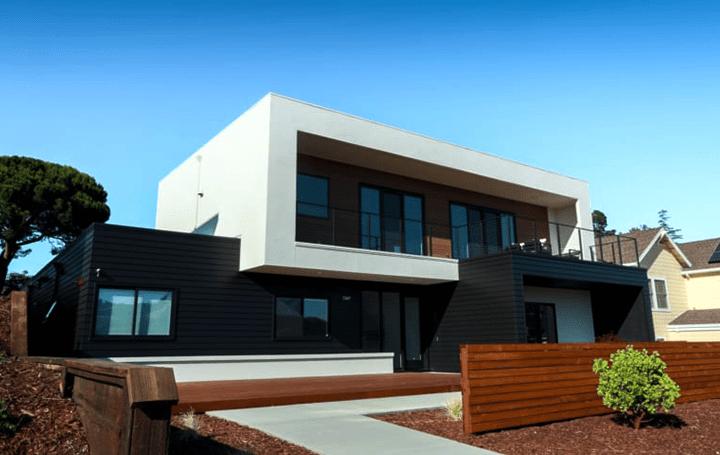 住宅関連スタートアップ企業 HOMMAの プロトタイプ住宅 HOMMA ONEが米カリフォルニア州に建設