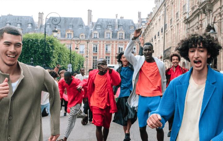 現代を生きる男性の日常着を提案するHOMME PLISSÉ ISSEY MIYAKE パリでの製作現場の記録映像作品が公開