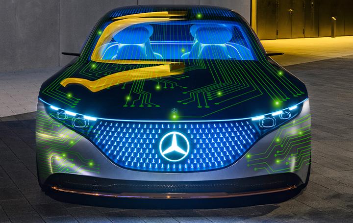 メルセデス・ベンツとNVIDIAが協業 アップグレード可能な自動運転の車両を設計