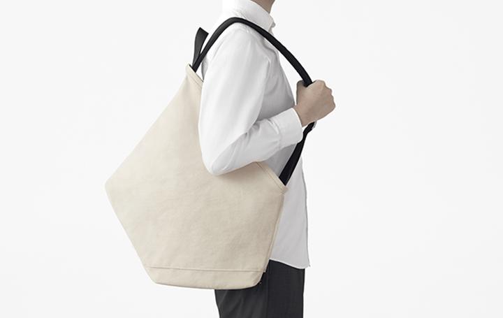 トートバッグとリュックサックの利便性を掛け合わせた 新しい形のバック「ROOTOTE × nendo ruck-tote」が…