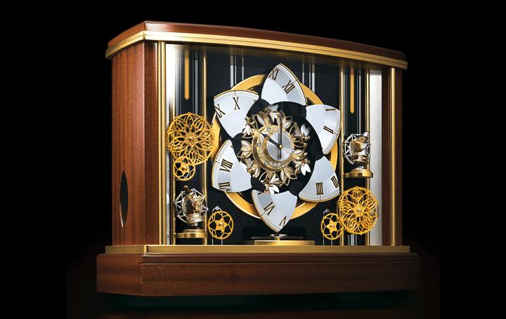銀座・和光のからくり時計、セイコークロックをモチーフに 大型からくり置時計「輪舞メゾン」が登場