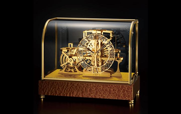 機械式時計の「動く様」を全方位から鑑賞 デコールセイコー「悠久」の新しい置時計