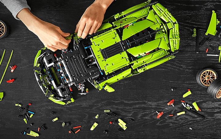 レゴ®テクニック、リアルさを追求 「ランボルギーニ シアンFKP 37」を忠実に再現