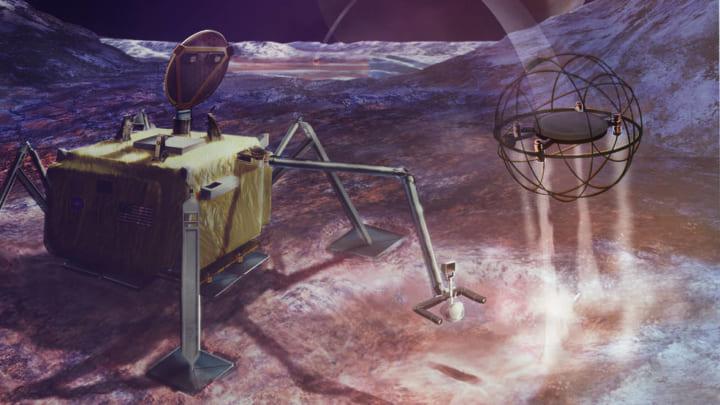 NASAが構想するコンセプトロボット「SPARROW」 飛び跳ねながら惑星の危険な地形から移動