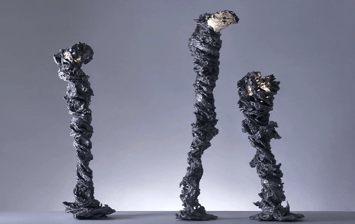 we+が新作の照明作品「Swirl」を発表 静的な照明に動き出しそうな水の渦動を表現