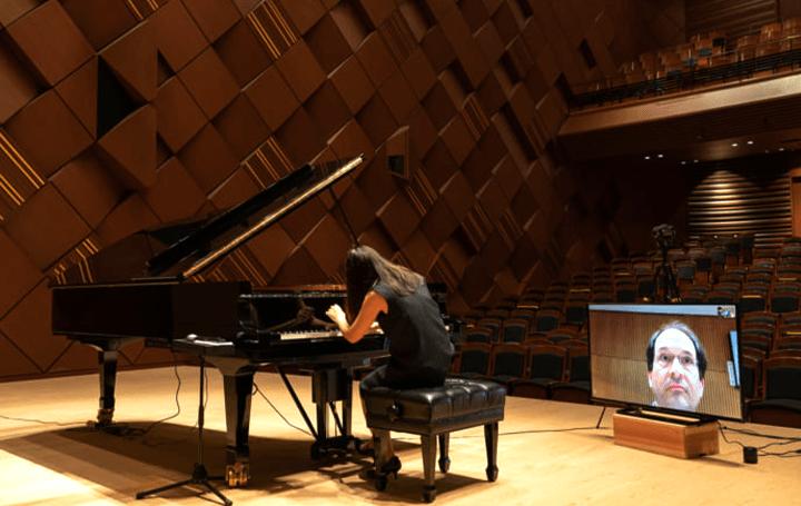 音楽は国や場所に制約されない ヤマハは、ドイツ・フライブルク音楽大学の遠隔ピアノ演奏試験をサポイート