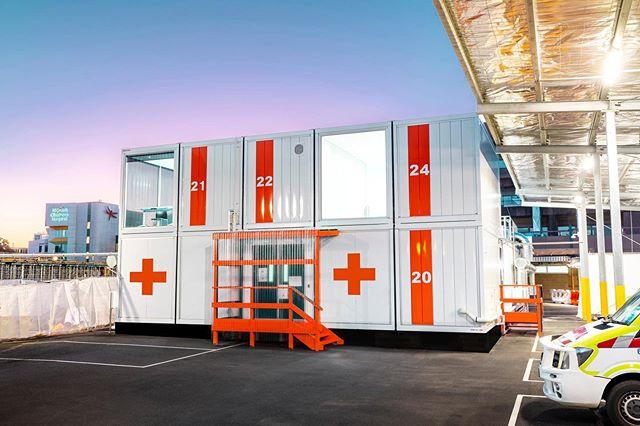 メルボルンにCOVID-19専門の救命施設が完成 迅速に構築可能なモジュール式インフラを採用