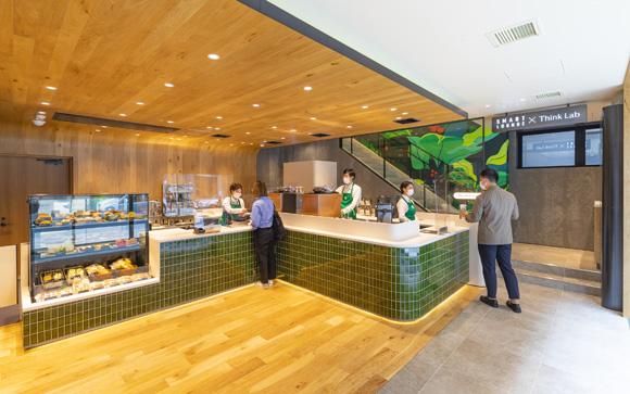 スターバックス、ビジネス利用できる新店舗をオープン JINSが手がけるソロワーキングスペース「Think Lab…
