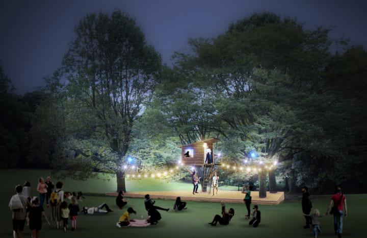 泊まれる公園「INN THE PARK」に 野外ステージ設置プロジェクトのクラウドファンディング開始