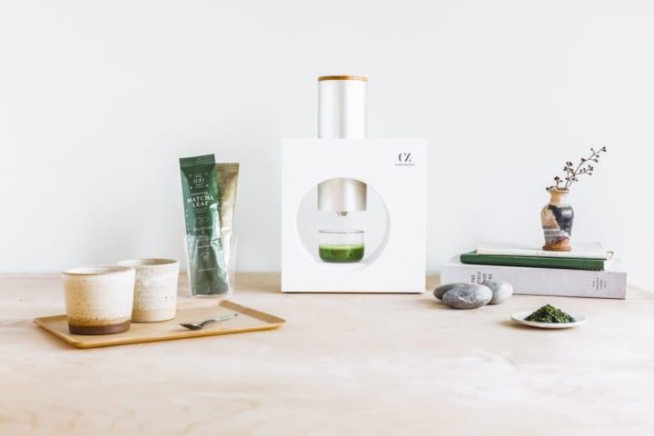 碾きたて抹茶の美味しさを自宅で楽しめる 「Cuzen Matcha」が日本に登場
