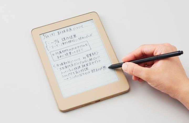 キングジム、「手書き」の良さを追求した デジタルノート「フリーノ」をリリース