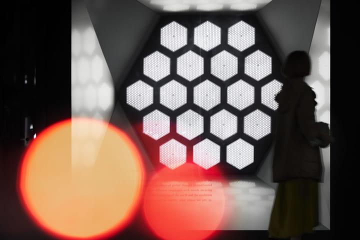 志水児王によるSNSを活用した光のインスタレーションが SHISEIDO THE STORE WINDOW GALLERYに登場