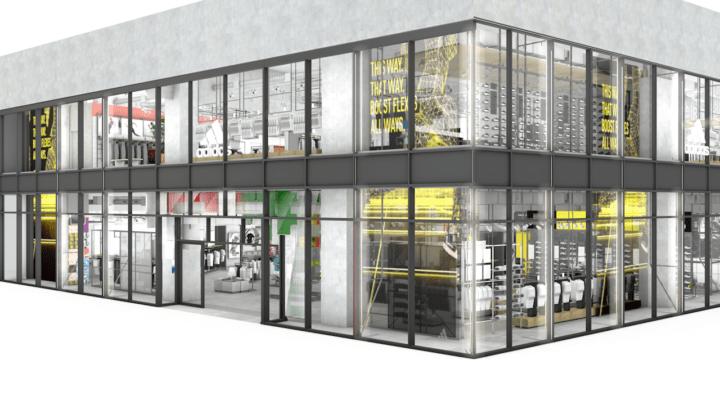 アディダス 、「東京」を店舗全体で表現する 国内最大コンセプト店「アディダス ブランドセンター RAYARD …