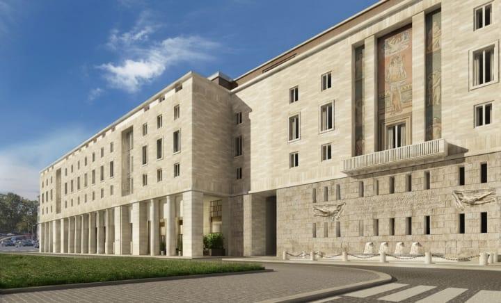 「ブルガリ ホテル ローマ」2022年の開業を発表 伝統的なイタリア建築を巨大な近代建築物として復元