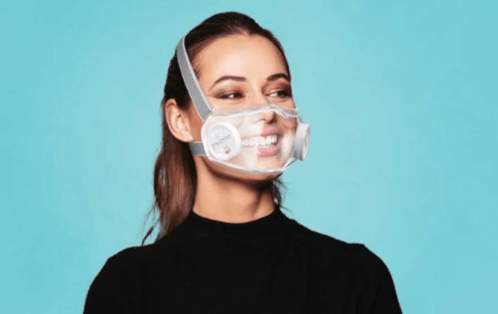 マスクのデザインは進化し続ける フランス発、笑顔が見える透明なマスク「Civility」
