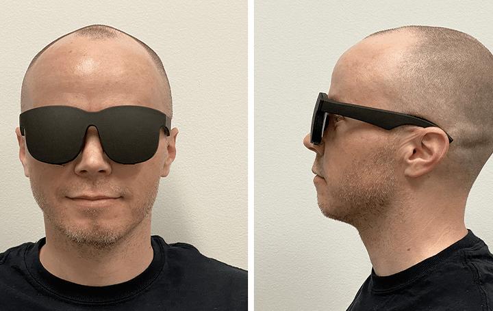 Facebook、新しいホログラフィック光学による 薄くて軽量のVRメガネのプロトタイプを実現