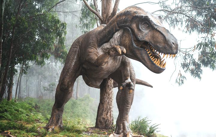 Google検索のAR機能で 3Dジュラシック・ワールドの恐竜を召喚