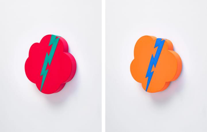 テレワーク中に実験的に制作された 舘鼻則孝の独自の死生観を主題とした作品「Thundercloud Painting」が…