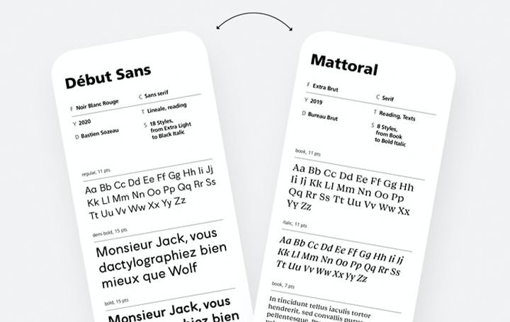 100種類のフランス語フォントを収録した フォントパレット「Typologie」が登場