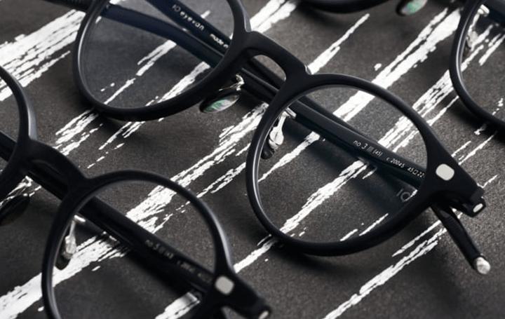 アイウェアブランド「10 eyevan」 墨をイメージしたセルロイドコレクションをリリース