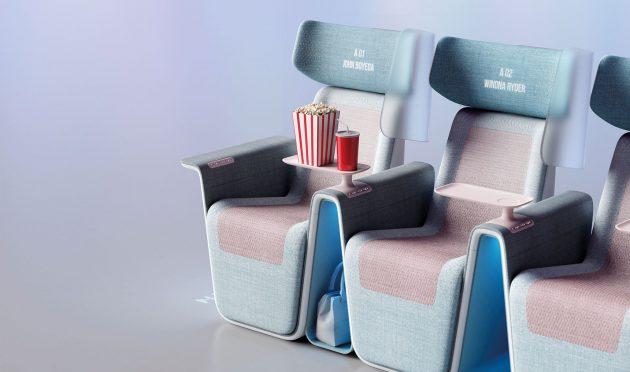 LAYER、コロナ後の世界を念頭に 映画鑑賞用シート「Sequel Seat」をデザイン