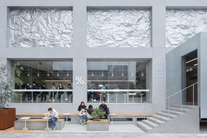 北京旧市街地を文化芸術の核に復興 B.L.U.E. Architecture Studioが手がけた「M WOODS Art Community」