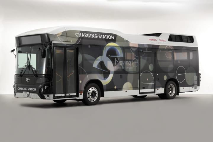 トヨタとホンダが、いつでも・どこでも電気を届く 移動式発電・給電システム「Moving e」を構築