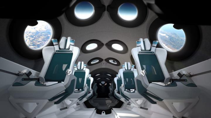 宇宙事業会社Virgin Galacticと英デザインエージェンシーによる 宇宙旅客機「VSS Unity」のデザインを公開