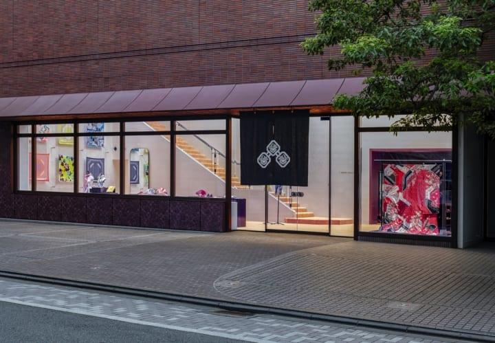 着物の京友禅「千總」初のフラッグシップストア 田根剛による自然を感じさせる店舗デザイン