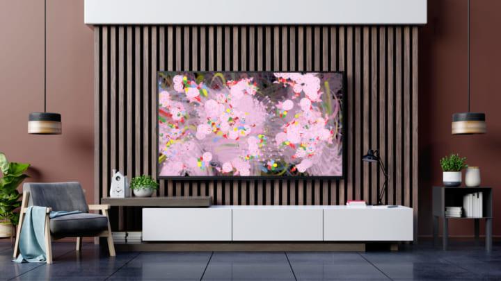 チームラボが設計、自宅のテレビで体験できる アートプロジェクト「フラワーズ ボミング ホーム」