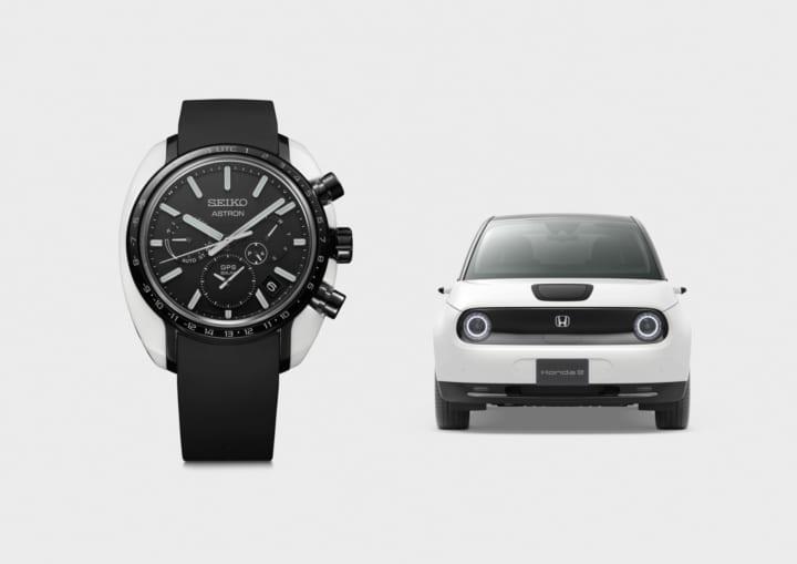 Hondaの新型EV「Honda e」の世界観を表現 セイコー アストロンから限定モデルが登場