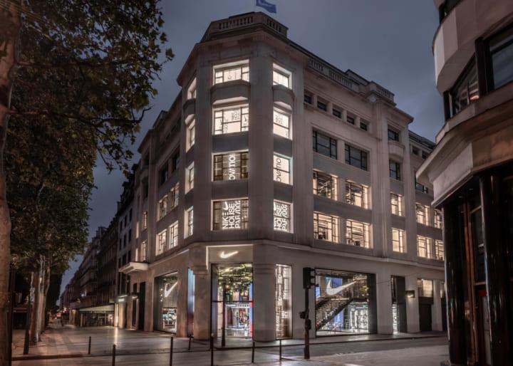 ナイキ、パリ・シャンゼリゼ通りに最新機能を備えた 体験型の新店舗「House of Innovation」をオープン