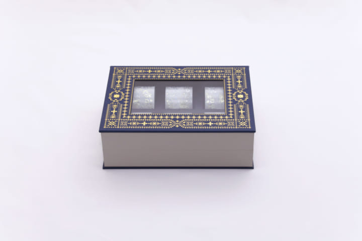 大事なコレクションを「宝石箱」に収納 箔押しマスキングテープのコレクションケースが登場