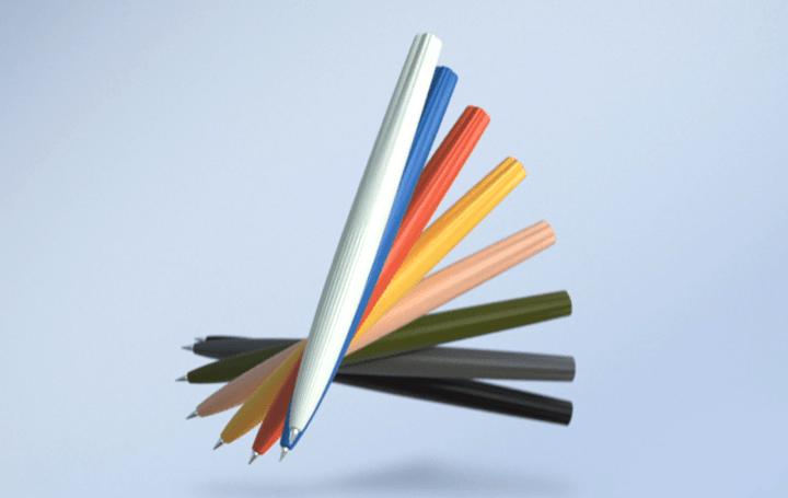 「サクラ」マークを造形に取り入れた 単色ゲルインキボールペン「SAKURA craft_lab 005」がリリース