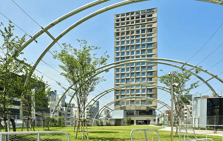 公園・商業施設・ホテルが一体となる ミクストユース型ホテルブランド「sequence」リリース