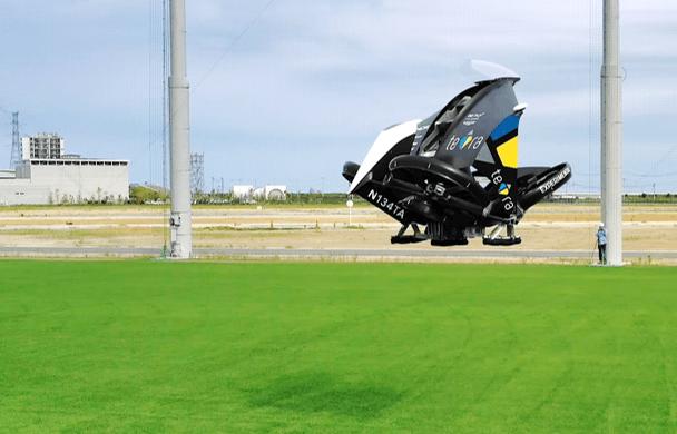 eVTOLスタートアップ「テトラ・アビエーション」 開発中の機体「Mk-3」の飛行動画を初公開