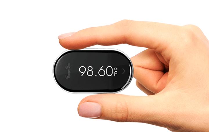 外出先でも手軽に使える シンプルな非接触型スマート検温器「ThermBot」